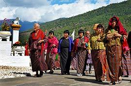 Bhutan local people