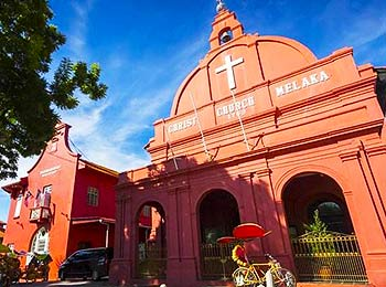 A church in Malacca