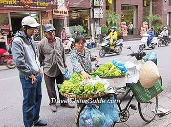 Local people in Ho Chi Minh City