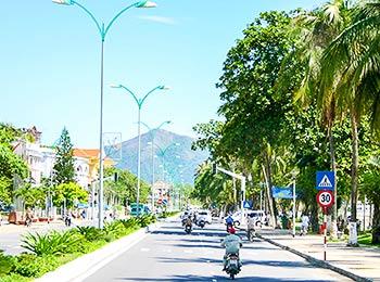 Street scene in Nha Trang