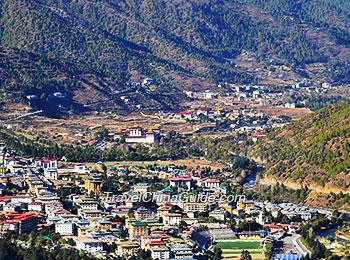 A village in Thimphu
