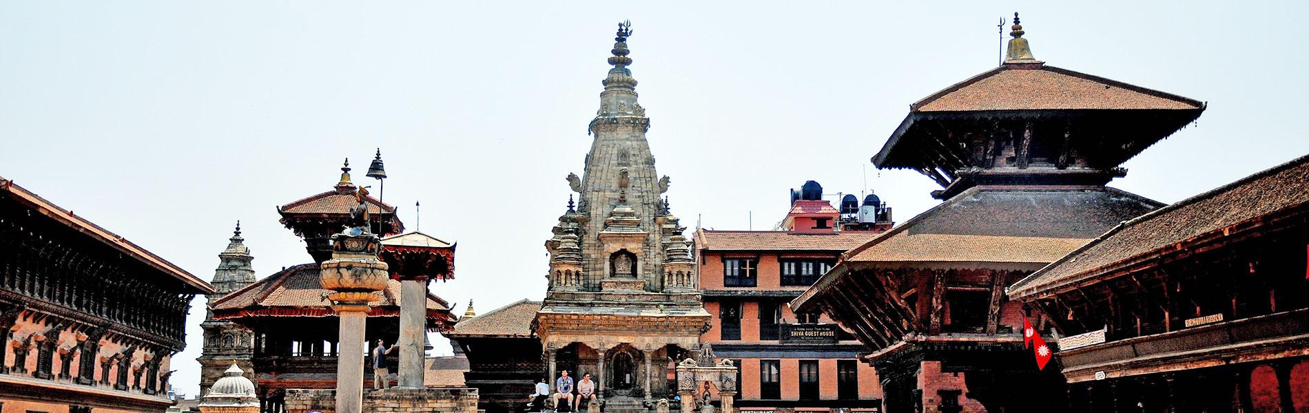 Durbar Square in Nepal