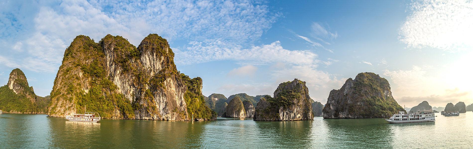 Halong bay in Summer