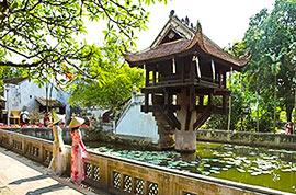 One Pillar Pagoda, Hanoi