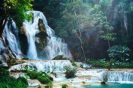 Khouang Si Waterfall, Laos