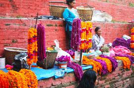 Vendor in Kathmandu
