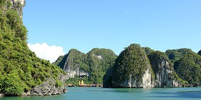 Sunny Halong Bay