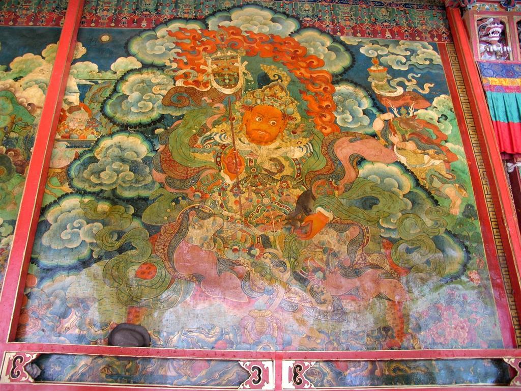 Murals in Sera Monastery