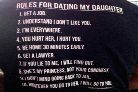 Dating rules for dating my daughter