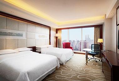Standard room, Sheraton Shanghai Hongkou Hotel