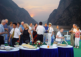 Welcome Party on the Yangtze River