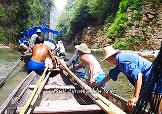 Shennong Stream excursion