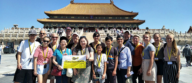 A happy memory at the majestic Forbidden City