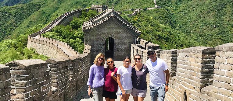 Enjoy walking on the Mutianyu Great Wall