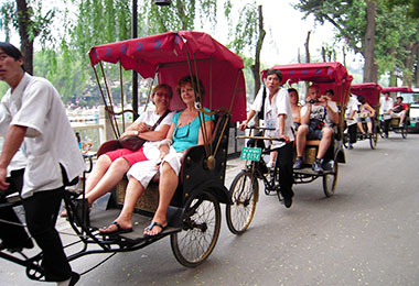 Rickshaw tour in old Hutongs