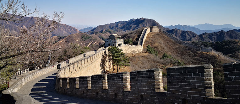 A gorgeous view of the Mutianyu Great Wall