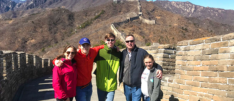 Have a great time on the China Great Wall