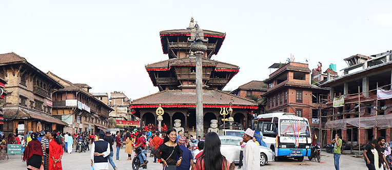 Visit the Dattatreya Temple at the Bhaktapur Durbar Square