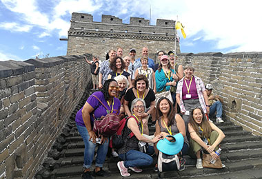 Our group on the Mutianyu Great Wall