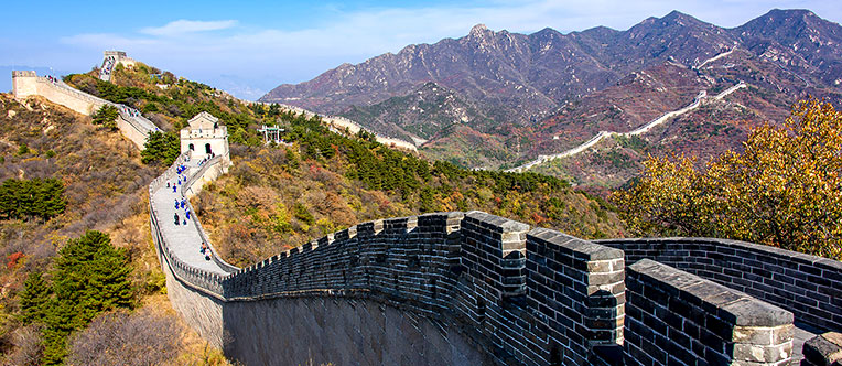 Marvel at the grandeur of the Great Wall