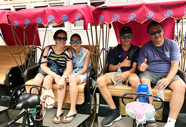 Enjoy a Hutong rickshaw tour