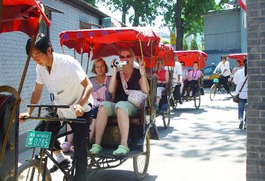 Tour around Hutongs by rickshaw