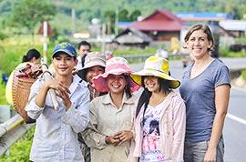 Local people in Vietnam