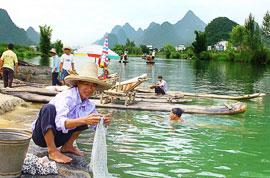Rural life in Yangshuo