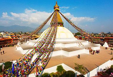 Majestic Boudhanath Stupa
