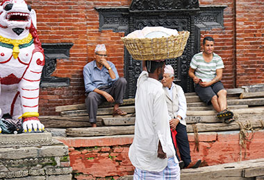 Local people in Nepal