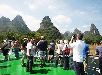 Admire the scenic Li River