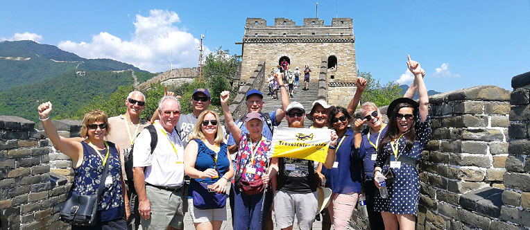Have a great time hiking on the Great Wall