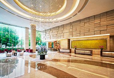 Lobby of the Sheraton Shanghai Hongkou Hotel