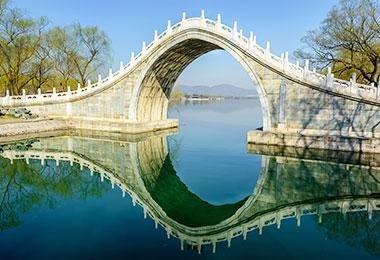 Jade Belt Bridge in the Summer Palace