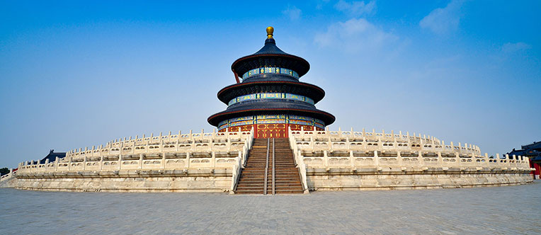 Admire the grand architectures at the Temple of Heaven