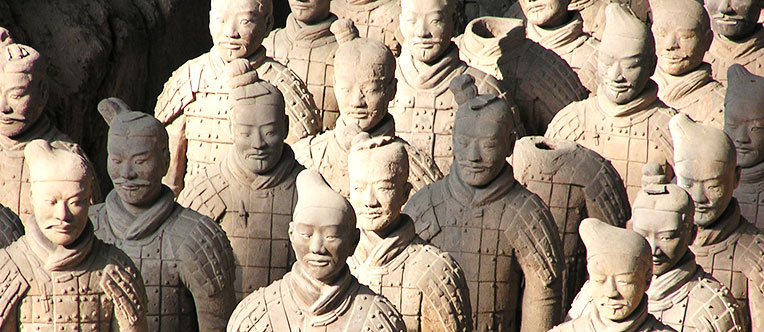 Marvel at the vivid Terracotta Warriors of 2,000 years ago
