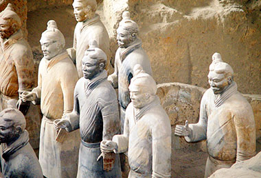 World-famous Terracotta Army