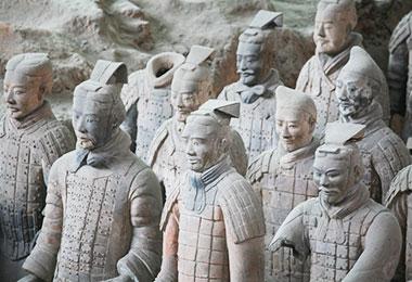 The marvelous Terracotta Warriors