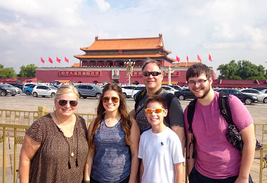 Visit the Tiananmen Square