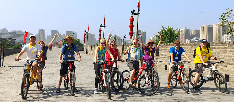Experience unique bike riding on the ancient City Wall