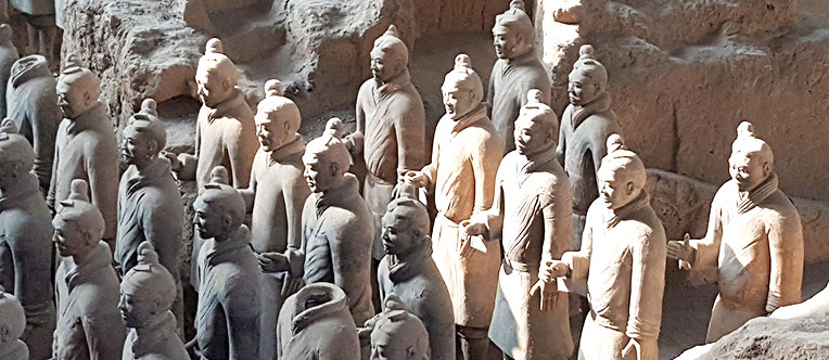 The 2,200-year-old Terracotta Warriors