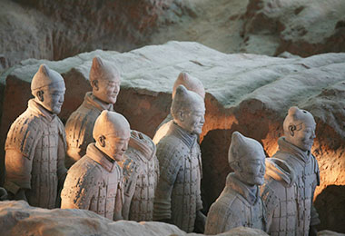 Admire the majestic Terracotta Army