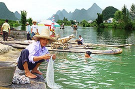 Rural life in Yangshuo