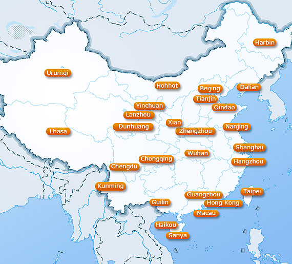 China Weather Major City Climate With Weather Forecast Maps