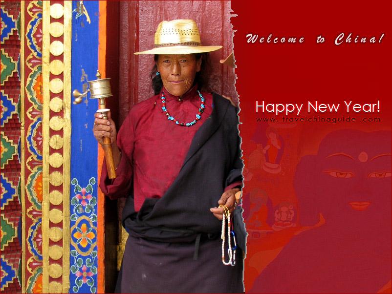 Pious Tibetan People