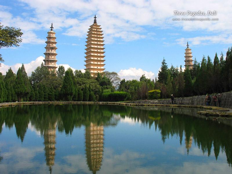 Three Pagodas, Dali