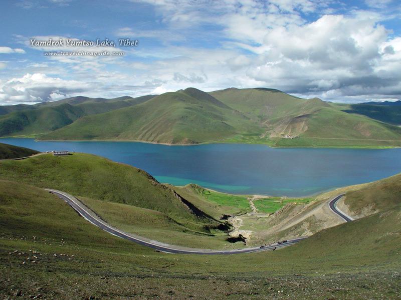 Yamdrok Yumtso Lake, Tibet