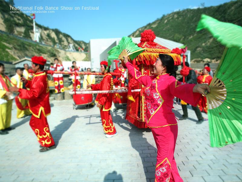 Traditional Folk Dance Show on Festival