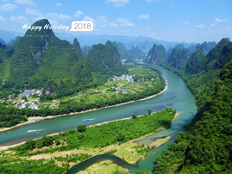 2018 Greetings from Guilin