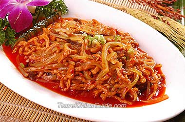 Chinese food cooking class recipes fish flavored shredded pork forumfinder Image collections